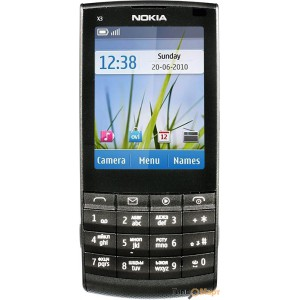 Nokia X3-02 Dark Metal Music